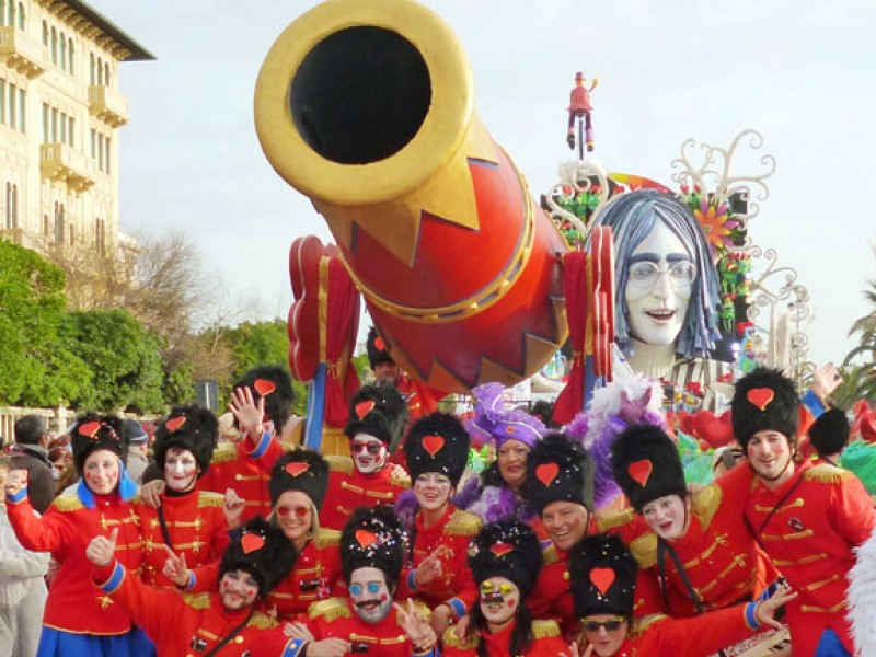 Carnevale di Viareggio 2014